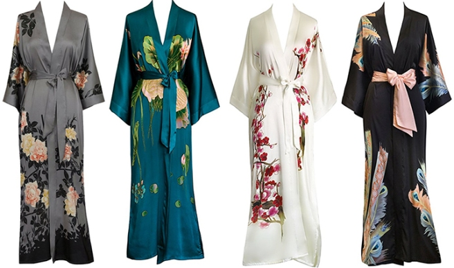 old_shanghai_handpainted_kimono_long_robe_flower