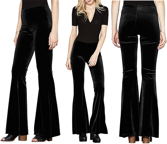 velvet_high_waist_bell_bottom_flare_pants