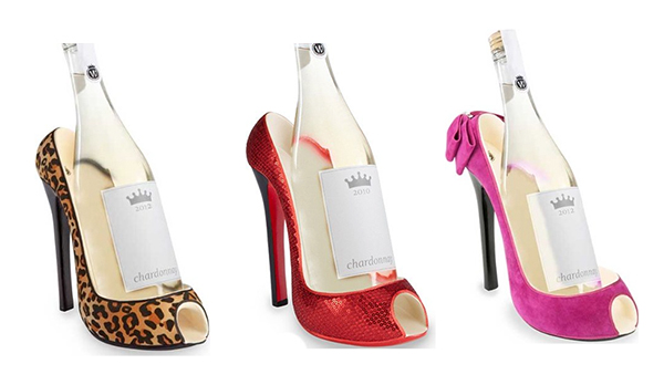 high_heel_shoe_wine_bottle_holder_gift