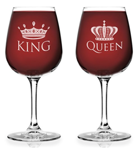 king_queen_wine_glass_set