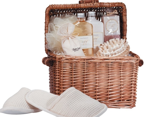 spa_gift_basket_honey_vanilla_scent