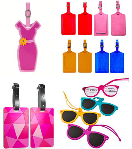 unique_luggage_tags_leather_sunglasses_dress